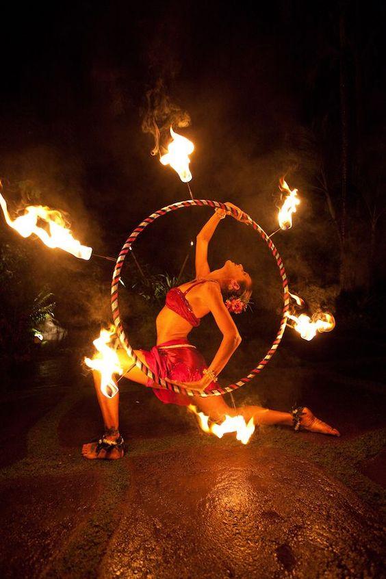 atrakcje weselne fire show